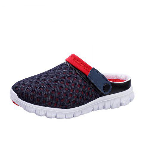 Dual Use Mesh Breathable Shoes - Purplish Blue - 40