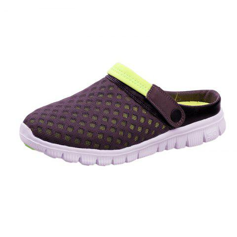 Chic Dual Use Mesh Breathable Shoes GRAY 47