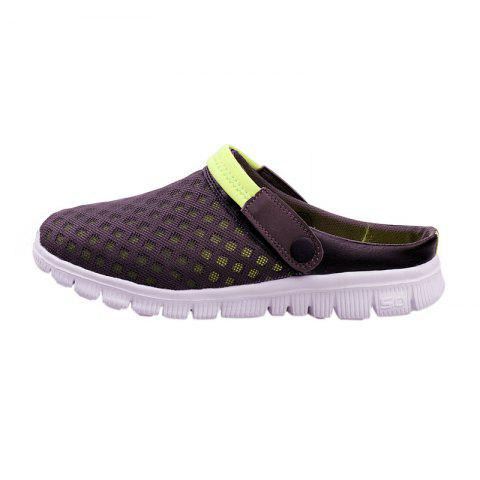 Latest Dual Use Mesh Breathable Shoes - 47 GRAY Mobile