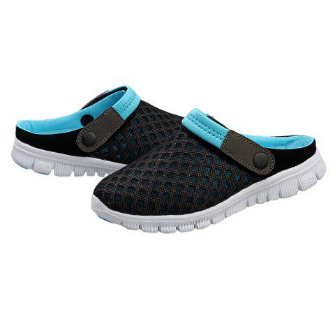 Latest Dual Use Mesh Breathable Shoes - 47 BLACK Mobile