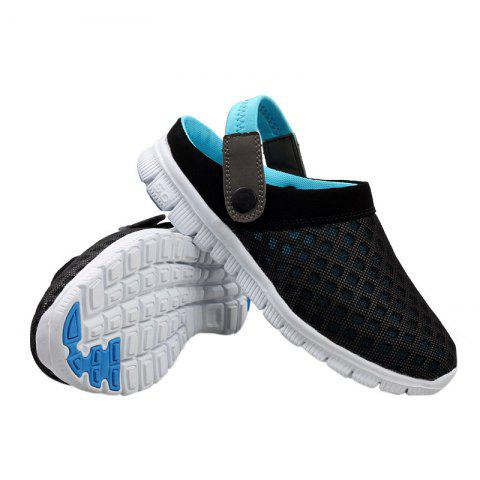 Buy Dual Use Mesh Breathable Shoes - 47 BLACK Mobile