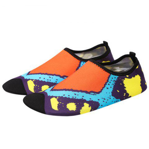 Trendy Graphic Breathable Qulick Dry Shoes - 43 FLORAL Mobile