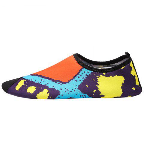 New Graphic Breathable Qulick Dry Shoes - 43 FLORAL Mobile