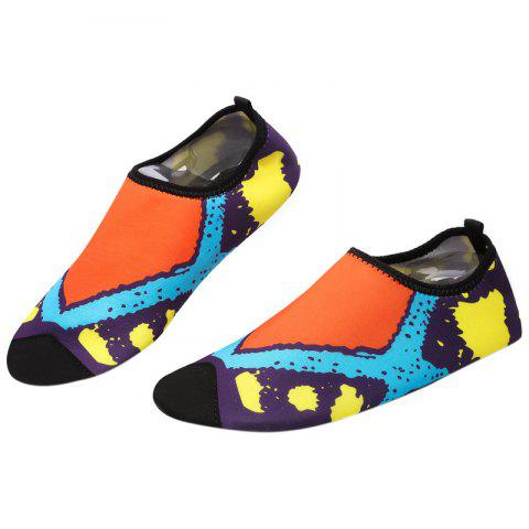 Affordable Graphic Breathable Qulick Dry Shoes - 39 FLORAL Mobile