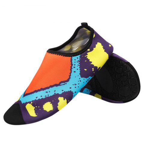 Fancy Graphic Breathable Qulick Dry Shoes - 39 FLORAL Mobile