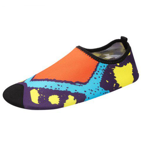 Hot Graphic Breathable Qulick Dry Shoes - 39 FLORAL Mobile