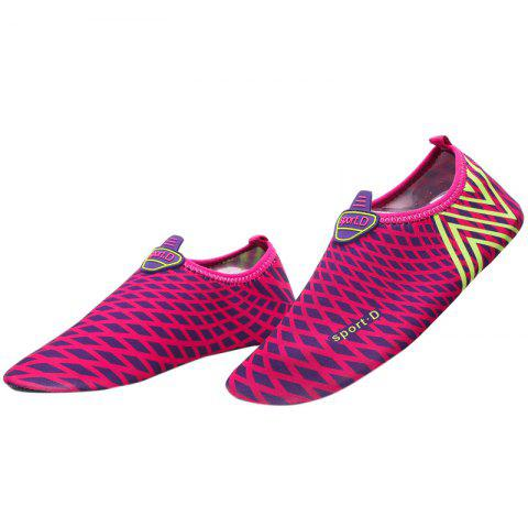 Affordable Graphic Breathable Qulick Dry Shoes - 43 TUTTI FRUTTI Mobile