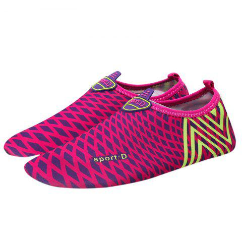 Chic Graphic Breathable Qulick Dry Shoes - 43 TUTTI FRUTTI Mobile