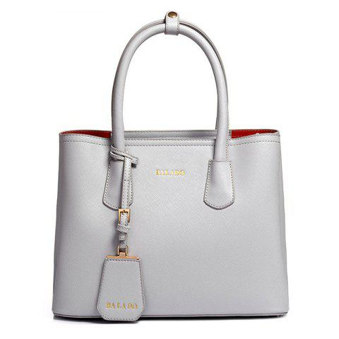 Outfit Pendant PU Leather Tote Bag