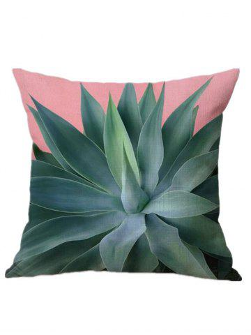 Outfits Spring Summer Leaf Sofa Throw Pillow Cover PAPAYA