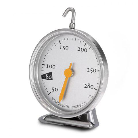 Trendy Quality Stainless Steel Thermometer For Oven Dedicated - SILVER  Mobile