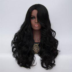 Adiors Long Curly Side Bang High Temperature Fiber Wig