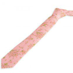 Spring Floral Blossom Printed Neck Tie