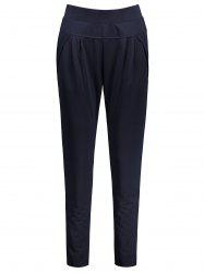 Plus Size High Waisted Ankle Pants