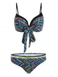 Plus Size Underwire Tribal Bikini Swimwear