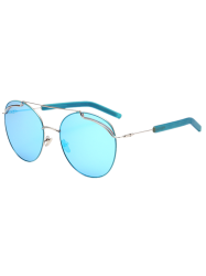 Double Metal Crossbar Anti UV Sunglasses
