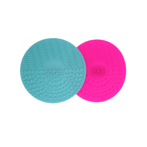 2 Pcs Pads à nettoyer et essuyer de maquillage -