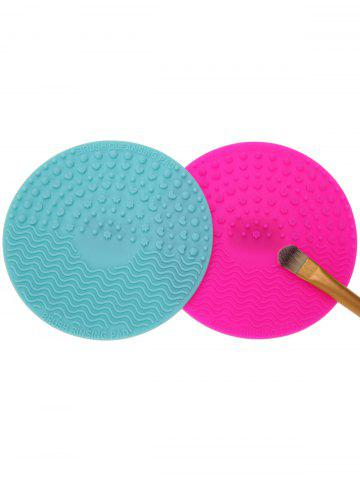 Best 2 Pcs Makeup Brush Cleaner Pads - MULTICOLOR  Mobile