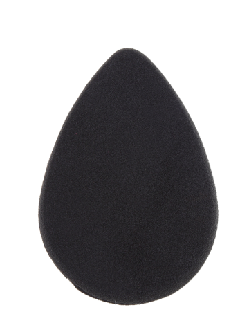 Latest Irregular Teardrop Shaped Beauty Sponge - BLACK  Mobile