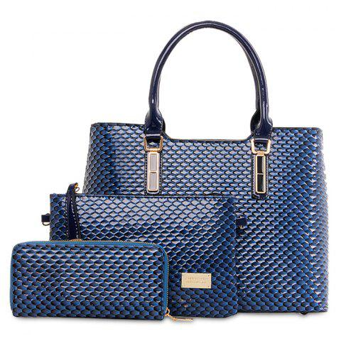 Shop Embossed 3 Pieces Handbag Set