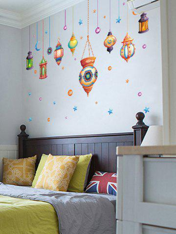 Shop Cartoon Mystical Droplights Wall Sticker - 60*90CM COLORMIX Mobile