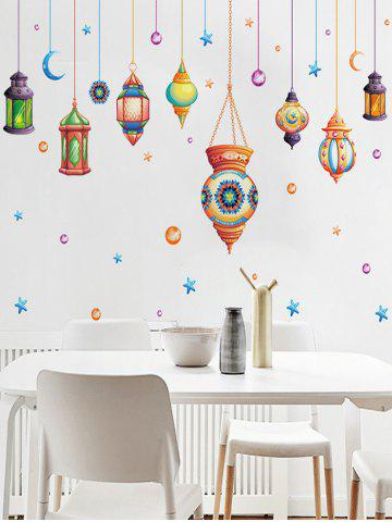 Shops Cartoon Mystical Droplights Wall Sticker - 60*90CM COLORMIX Mobile