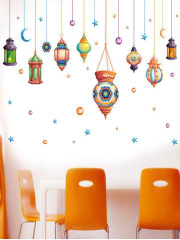 Sale Cartoon Mystical Droplights Wall Sticker - 60*90CM COLORMIX Mobile