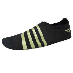 Striped Breathable Qulick Dry Shoes