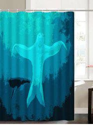 Dancing Sloth Under Sea Shower Curtain