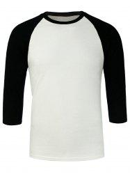 Three Quarter Sleeves Baseball Tee