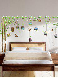 Removable Vinyl Photo Frame Tree Wall Sticker
