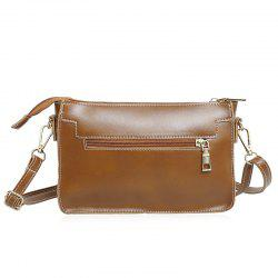 Front Zipper Pocket Crossbody Bag