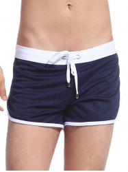 Pocket Lace Up Sport Shorts