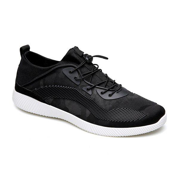 Latest Breathable Stretch Fabric Casual Shoes
