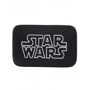 Coral Fleece Letter Star Wars Bath Rug - Black - 40*60cm