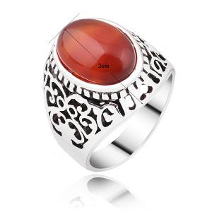 Faux Ruby Vintage Ring -