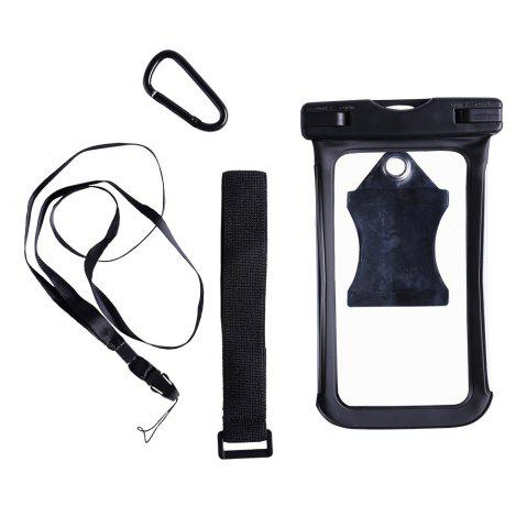 Waterproof Mobile Phone Case with Arm Band - Black