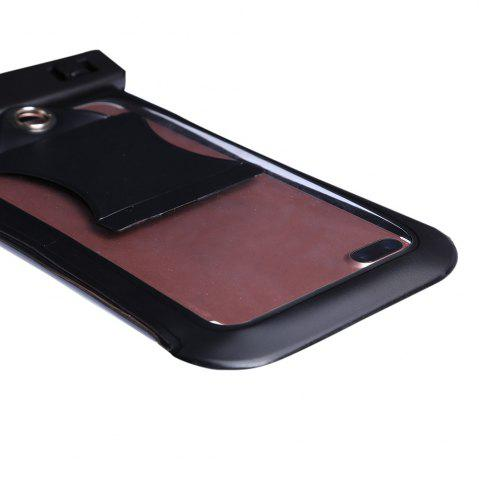 Outfit Waterproof Mobile Phone Case with Arm Band - BLACK  Mobile