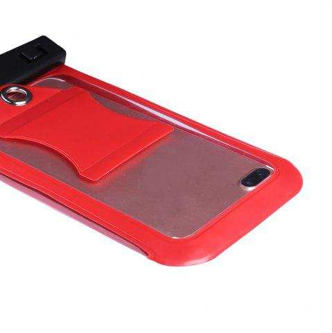 Latest Waterproof Mobile Phone Case with Arm Band - RED  Mobile