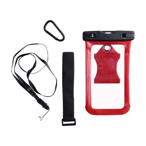 Best Waterproof Mobile Phone Case with Arm Band - RED  Mobile