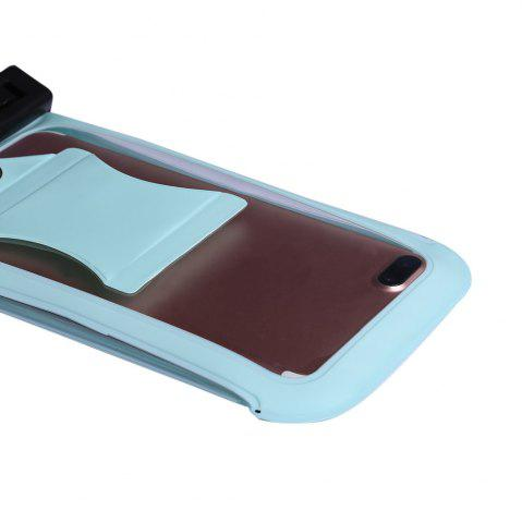 Latest Waterproof Mobile Phone Case with Arm Band - CYAN  Mobile