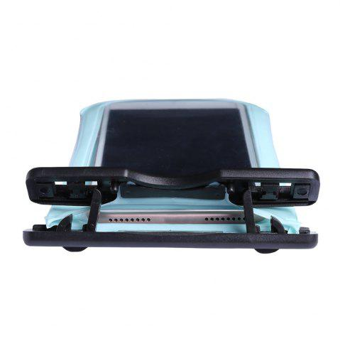 Online Waterproof Mobile Phone Case with Arm Band - CYAN  Mobile
