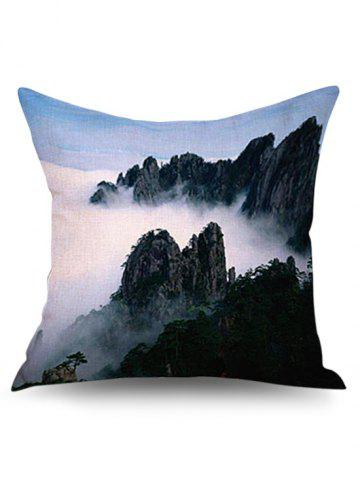 Outfit 3D Natural Mountain Linen Pillowcase - 43*43CM COLORMIX Mobile