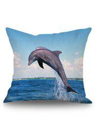 Ocean Dophin Cushion Cover Pillow Case