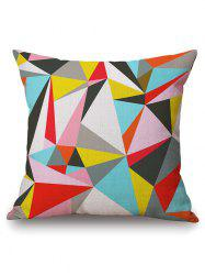 Throw Pillow Cover with Geometry Pattern