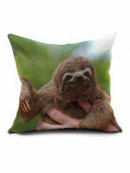 Sloth Home Decorative Throw Pillow Case