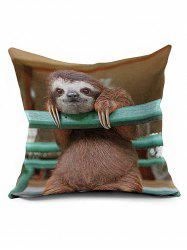 Sloth Bedroom Decoration Throw Pillow Case