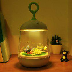 Colorful Change LED Night Light with DIY Micro Landscape