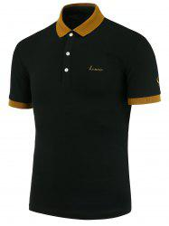 Two Tone Slim Fit Polo Shirt