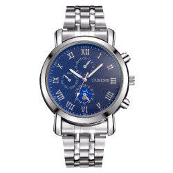 OUKESHI Alloy Strap Roman Numeral Watch -